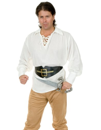 White Buccaneer Pirate Shirt