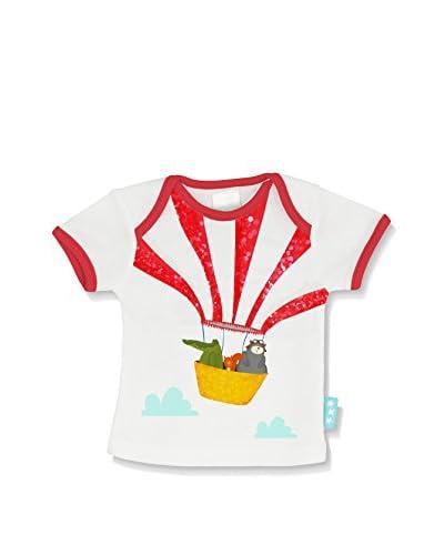 Baleno Camiseta Manga Corta Balloon Ride Blanco/Rojo