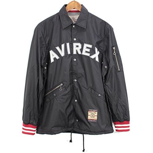 (アビレックス)AVIREX RIB COACH JACKET 6152108 09BLACK ブラック L