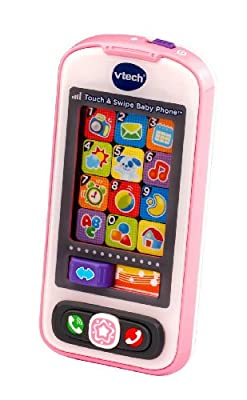 Vtech Touch Swipe Baby Phone - Pink by VTech