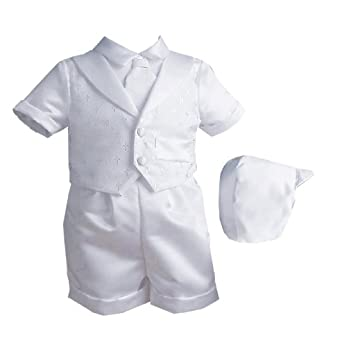 d6720311f1a Lauren Madison Baby boy Christening Baptism Infant Vestie Set With Short ·  view recommendations for this product. I loved the look of this outfit  online and ...