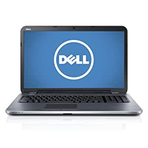 Dell Inspiron 17R i17RM-8355sLV 17.3-Inch Laptop (2.0 GHz Intel Core i7-3537U Processor, 8GB DDR3, 1TB HDD, Windows 8) Moon Silver [Discontinued By Manufacturer]