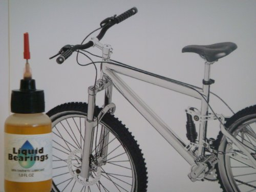 Liquid Bearings 100%-synthetic Oil for Pacific Bicycles, Provides Superior Lubrication and Also Prevents Rust!!