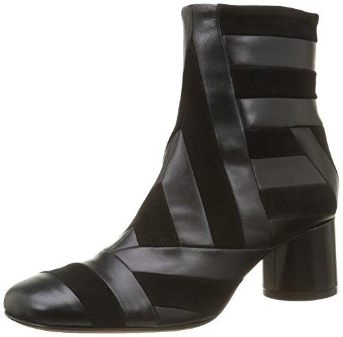Kallisté5837.1 - Stivali a metà polpaccio con imbottitura leggera Donna , Nero (Nero (Nero)), 39 EU