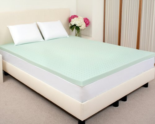 "Deals Sleep Joy 3"" ViscO2 Green Tea Memory Foam Mattress"