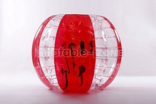 FREE SHIPPING Inflatable-ZoneTM Bubble Soccer Bubbles, bumper ball, human hamster ball, bubble football - Red Flower