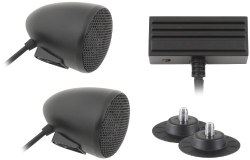 2 SPORTBIKE AUDIO SYST-BLACK (Cycle Sounds compare prices)