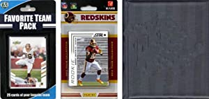 NFL Washington Redskins Licensed 2012 Score Team Set and Favorite Player Trading Card... by C&I Collectables