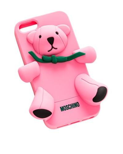 Moschino Funda iPhone 5 Rosa