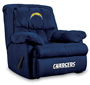 NFL San Diego Chargers Home Team Microfiber Recliner by Imperial