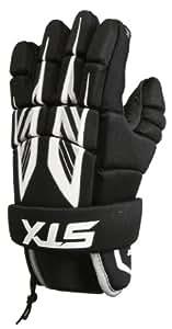 STX Lacrosse Stinger Gloves, X-Small, Black