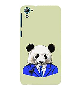 EPICCASE Panda in a suit Mobile Back Case Cover For HTC Desire 826 (Designer Case)