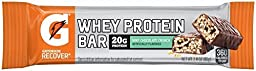 Gatorade Whey Protein Recover Bars 2.8 Oz (4 Pack) (Mint Chocolate Crunch)