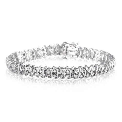 2.00 Carat Diamond Tennis Bracelet in .925 Sterling