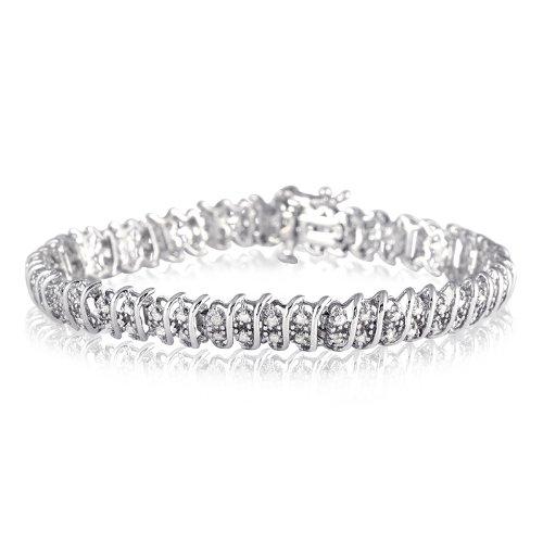 2.00 Carat Diamond Tennis Bracelet in .925 Sterling
