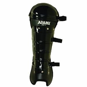 Buy Adams USA Smitty Umpire Double Knee Leg Guard (Black) by Adams USA
