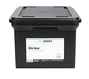 Lastest  Size File Box Black SNS01533  Storage File Boxes  Office Products