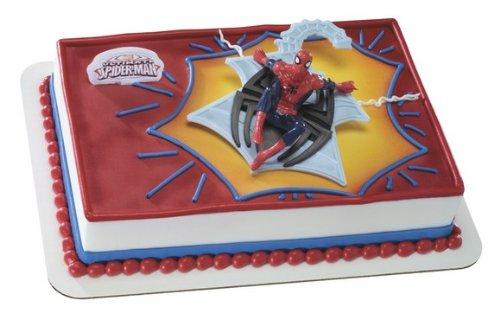 Web Spinner DecoSet Cake Decoration - 1