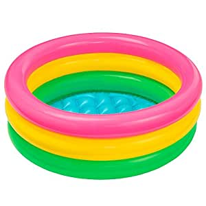 Intex Inflatable Baby Pool, Multi Color (2-feet)