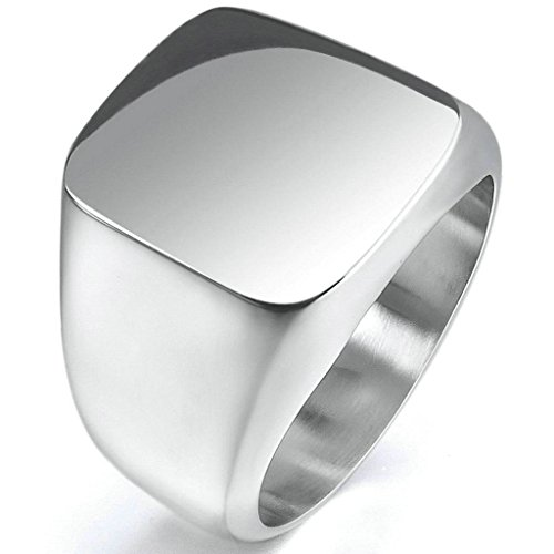 gnzoe-jewelry-stainless-steel-mens-rings-silver-signet-polished-biker-size-10
