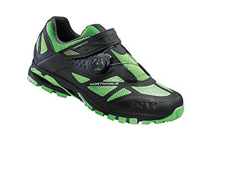 chaussures-northwave-mission-plus-vtt-noir-vert-fluor-schuhgrossegr-43