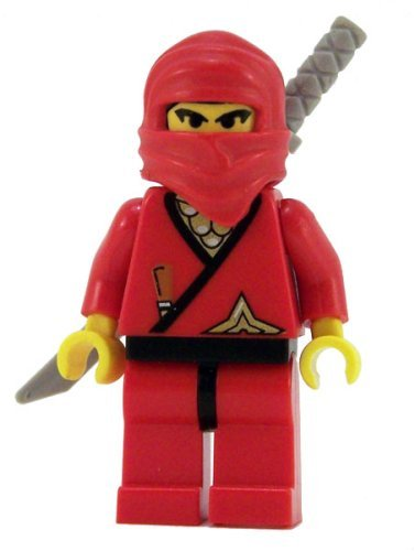 Ninja (Red) - LEGO Ninja Figure - 1