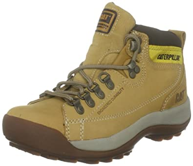 Amazon.com: Caterpillar Women's Active Alaska Honey Leather Boots 10