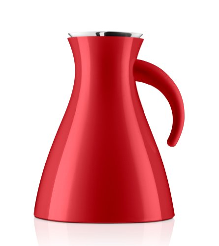 Eva Solo Wide Base Vacuum Jug, 1-Liter, Red Low (Red Solo Pitcher compare prices)