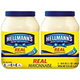Hellmann's Real Mayonnaise, 36 oz (Pack of 2)