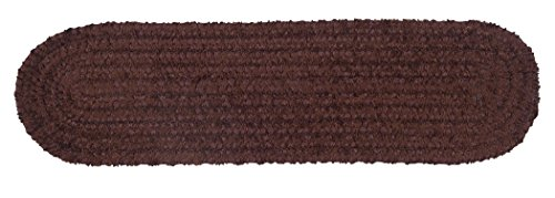 Spring Meadow Stair Tread, Chocolate, Set of 13