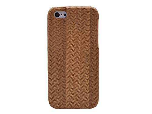 Queens® Unique Real Special Unique Real Handmade Natural Wood Wooden Hard Bamboo Shockproof Case For Iphone 6 (4.7) (A-2)