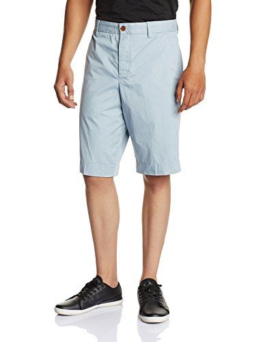 French Connection Men's Peached Twill Flat Front Short
