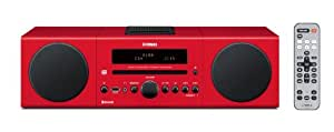 Yamaha MCR-B142RE Desktop Audio Bluetooth System (Red)