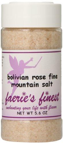 Faeries Finest Mountain Salt, Bolivian Rose, 5.60 Ounce