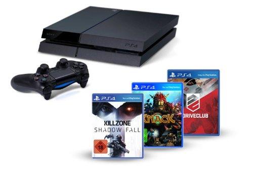 PlayStation 4 - Konsole inkl. Killzone: Shadow Fall, Knack und DriveClub