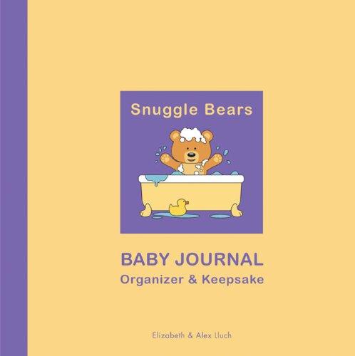 Snuggle Bears Baby Journal Organizer & Keepsake