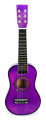 VT-Classic-Acoustic-Beginners-Childrens-Kids-6-Stringed-Toy-Guitar-Instrument-w-Guitar-Pick-Extra-Guitar-String-Purple