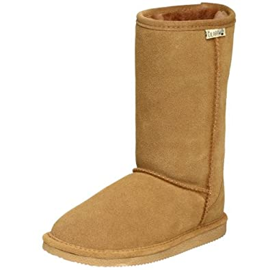 "BEARPAW Women's Eva 10"" Shearling Boot,Nutmeg,7 M US"