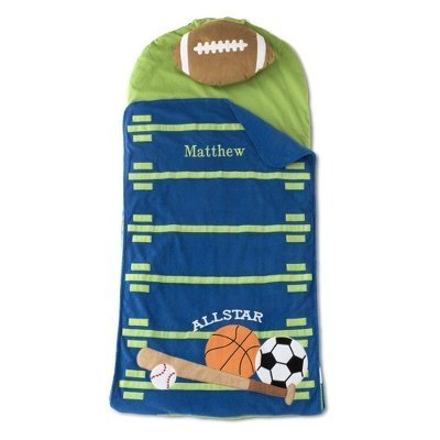 Personalized Sports Nap Mat front-149070