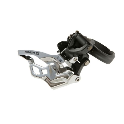 Sram X.5 3X10 Low-Clamp 31.8/34.9 Dual Pull Silver Front Derailleur