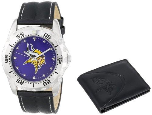 "Game Time Men'S Nfl-Wws-Min ""Watch & Wallet"" Watch - Minnesota Vikings"