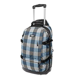 Archer 55L - cabin size luggage with laptop compartment (blue checks)