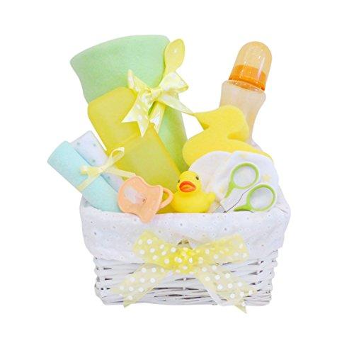 Frühling Unisex Baby Geschenk Korb/Baby-Geschenkkorb/Baby Dusche Geschenk/New Arrival/Unisex/Korbdekoration Schnell Versand