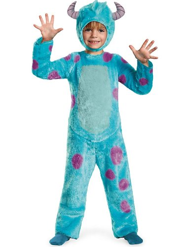 [Sulley Toddler Deluxe Costume - Toddler Medium] (Sully Monsters Inc Costume Toddler)