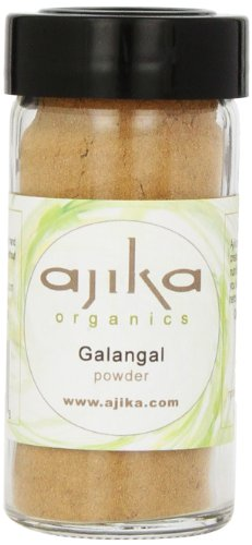 Ajika Organic Galangal Root Powder, 1.6-Ounce