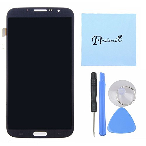 Lcd Display Touch Screen Digitizer Full Assembly For Samsung Galaxy Mega 6.3 I9200, Lte I527 I9205 Black