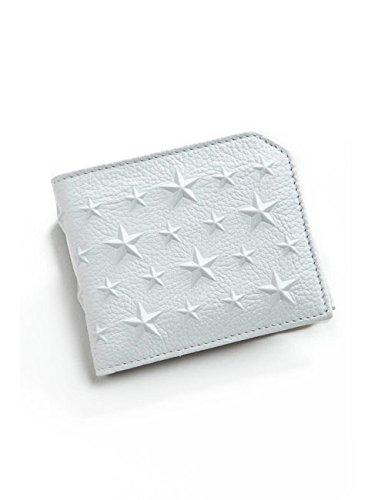 Jimmy Choo メンズ 財布 二つ折り (131ALBANY)【★-オフホワイト】 並行輸入品