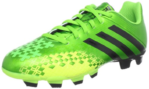 adidas Performance  Predito LZ TRX FG,  Scarpe da calcio uomo, Nero (Grün (RAY GREEN F13 / BLACK 1 / ELECTRICITY)), 42