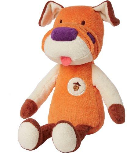 My Natural Plush Toy, Orange Dog front-138194