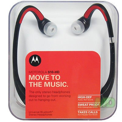 Oem New Motorola S10-Hd Dual Bluetooth Wireless Stereo Headset Genuine Retail